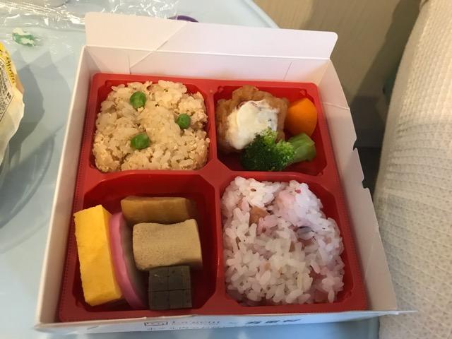 ラジェントホテル朝食のお弁当
