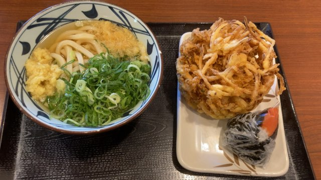 丸亀製麺500円ランチ